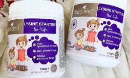 Bác sĩ chuyên khoa nổi tiếng của Úc khuyên bổ sung lysine ngay khi con 7 tháng tuổi để bé có chiều cao vượt trội