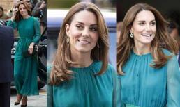 Trong khi em dâu Meghan bị soi ăn mặc thiếu chỉn chu thì Công nương Kate Middleton vừa xuất hiện đã được khen ngợi vì điều này