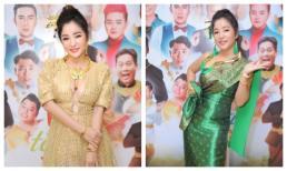Thuý Nga hoá cô gái Thái Lan, khoe vòng một căng đầy hút mắt tại sự kiện