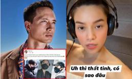Vì chi tiết nhỏ này, Hà Hồ - Kim Lý bị nghi đường ai nấy đi nhưng phản ứng của nam diễn viên mới đáng quan tâm
