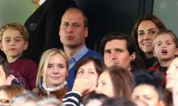Công nương Kate vui vẻ đi xem bóng đá cùng chồng con giữa tin đồn mạo hiểm 'bắt chước' em dâu Meghan