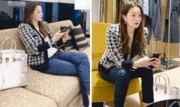 Kim Hee Sun đăng ảnh trẻ đẹp ngỡ ngàng nhưng chiếc túi xách cô mang giá hàng tỷ đồng mới là điều đáng nói