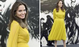 Lâu lắm rồi mới thấy Angelina Jolie tươi sáng rực rỡ, fan kêu gọi bà mẹ 6 con cứ thế mà phát huy