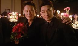 Isaac khoe vẻ điển trai cùng tài tử Lee Byung Hun