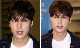 Mỹ nam Lee Min Ho lộ gương mặt mệt mỏi, đầu tóc bơ phờ tại sân bay
