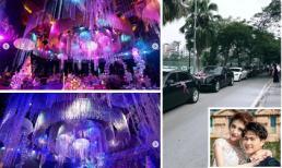 Đám cưới hoành tráng của Rich kid Claret Giang Lê cùng dàn siêu xe Rolls Royces gây chú ý