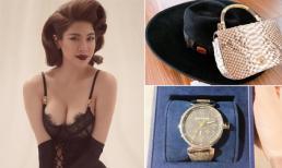 Hậu sinh nhật, Pha Lê khoe 'đập hộp' loạt hàng hiệu đắt tiền