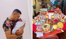 Vợ chồng nghệ sĩ Tự Long tổ chức đầy tháng cho con thứ hai