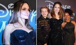 Sau thời gian bị chê kém sắc, Angelina Jolie khoe dung nhan rạng ngời ở tuổi 44
