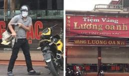 Đối tượng dùng súng cướp tiệm vàng ở Quảng Ninh bị ô tô tông rơi cả ba lô tiền