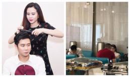 Chưa rõ ly hôn tái hợp thế nào, Lưu Hương Giang - Hồ Hoài Anh lại ngồi cách xa và lạnh lùng tại sân bay