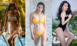 Đọ nhan sắc và body dàn sao nữ 'Thất Sơn Tâm Linh' khi mặc đồ bơi