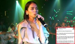Bị chê hát live chênh và phô, 'Thánh nữ cover' Hương Ly lên tiếng