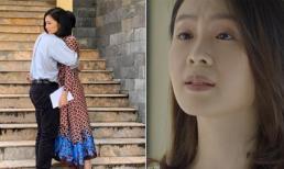 Ê-kíp hé lộ một phần ý nghĩa tên phim 'Hoa hồng trên ngực trái' và San sẽ ly hôn chồng