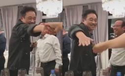 'Ngọc Hoàng' Quốc Khánh khiến fan thích thú với động tác bắt tay 'Đi đu đưa đi' cực dẻo