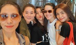 Hà Tăng khoe vẻ đẹp rạng rỡ, khoẻ khoắn cùng hội bạn vi vu Thái Lan