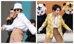 Fan thích thú khi Vũ Cát Tường tập vũ đạo siêu đáng yêu trong hậu trường Asia Song Festival