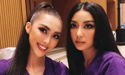 Dính nhau như sam ở Hoa hậu Hoàn Vũ, Thuý Vân hỏi Tường Linh: 'Mình là bách hợp hả?'