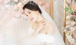 Khoác lên chiếc váy cưới tinh khôi, Hoàng Oanh hé lộ 'hôn lễ trong mơ' cô luôn ao ước