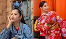 Ở Nhật Bản giữa siêu bão Hagibis, Chi Pu vẫn canh được hình đẹp để gửi đến fan