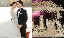 Đám cưới 'thần tiên tỷ tỷ' Cbiz: Lễ đường và pháo hoa rợp trời siêu lãng mạn