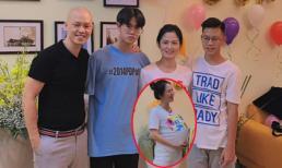 'Cô Hạnh bán hoa' tổ chức sinh nhật cho con trai nhưng vòng hai 'phình to' mới là điều khiến dân tình phì cười