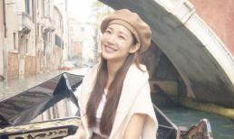 'Nữ hoàng dao kéo' Park Min Young hóa nàng thơ tại thiên đường của sự lãng mạn