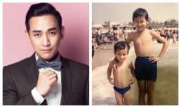 Hứa Vĩ Văn đăng ảnh thuở bé cùng em trai đã mất khiến fan bùi ngùi xúc động