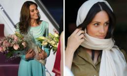Công nương Kate thể hiện đẳng cấp riêng đáp trả lại tin đồn bắt chước em dâu Meghan