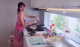 Thủy Tiên tự tay vào bếp nấu nồi cháo '50 triệu' cho Công Vinh
