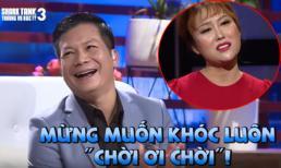 Cười muốn đột quỵ với hậu trường không lên sóng của Phi Thanh Vân tại Shark Tank