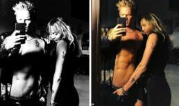 """Nổi máu hư hỏng, Miley Cyrus vô tư đặt tay ở chỗ """"nhạy cảm"""" của bạn trai mới khi chụp hình chung"""
