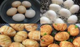 Thêm 1 cách chế biến trứng mới lạ, trẻ kén ăn mấy cũng 'đầu hàng'