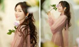 Thoát vai 'Phú Sát Hoàng hậu', Tần Lam hóa thân thành công chúa tóc mây gây thương nhớ