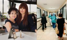Mẹ của Trizzie Phương Trinh nằm viện vì nghẽn mạch máu tim