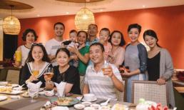 Vợ chồng nghệ sĩ Chiều Xuân tham dự sinh nhật của cháu ngoại