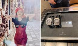 Bảo Thy mua đồng hồ đôi, dân mạng nghi tặng cho chồng sắp cưới