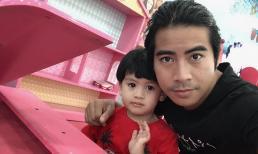 Thanh Bình lên tiếng giải thích khi đi chơi cùng con trai lại thiếu mặt vợ ngày 20/10