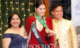 Hoàng Hạnh xuất sắc giành huy chương vàng phần thi Resort Wear tại Hoa hậu trái đất
