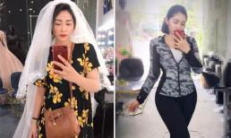Hoa hậu đại dương Đăng Thu Thảo đang cố gắng giảm cân sau khi cán mốc 85kg