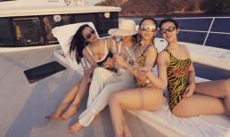 Huyền Baby cùng hội chị em đón sinh nhật sang chảnh trên du thuyền ở Bali
