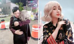 Quang Lê ôm chặt một cô gái lạ ở Hàn, dân mạng đoán người ấy là vợ cũ Hồ Quang Hiếu