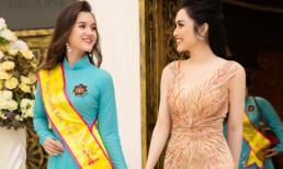 Hoàng Tú Quỳnh – Học trò của MC Huyền Sâm đoạt giải Hoa Khôi Áo Dài Việt Nam 2019