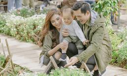 Gia đình Thúy Diễm - Lương Thế Thành làm ấm cả Đà Lạt với khoảnh khắc vui vẻ bên nhau
