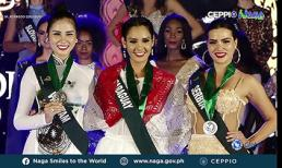 Hoàng Hạnh giành huy chương đồng 'Người đẹp thân thiện' tại Miss Earth 2019
