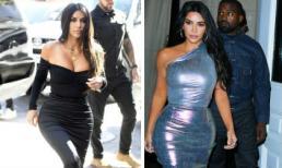 Đã là mẹ 4 con nhưng Kim Kardashian vẫn nghiện mặc đồ bó sát, khoe vòng một 'căng tràn bờ đê'