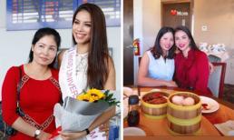 Ở bên Mỹ cùng con gái thời gian dài, mẹ Phạm Hương ngày càng trẻ đẹp