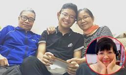 Bố mẹ Công Lý có mặt trong ngày sinh nhật con trai Thảo Vân