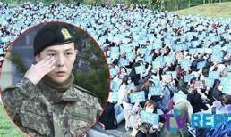 'Ông hoàng Kpop' G-Dragon xuất ngũ với ngoại hình cực ngầu, hơn 3000 fans vỡ òa đón chào nam thần trở về