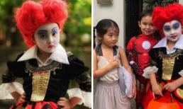 Con gái Marian Rivera hóa thân thành 'Nữ hoàng đỏ' trong tiệc Halloween cùng hội bạn thân
